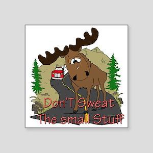 """moose fun Square Sticker 3"""" x 3"""""""
