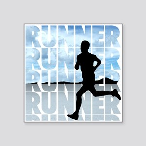 Runner Sticker