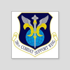 """38th CSW Square Sticker 3"""" x 3"""""""
