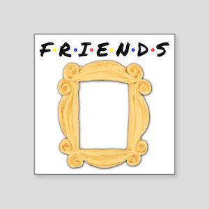 Friends Peephole Frame Sticker