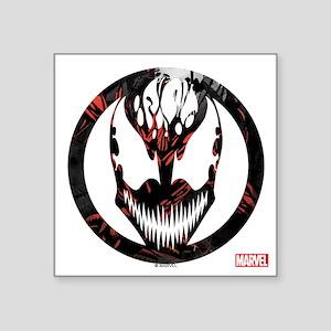 "Carnage Logo Square Sticker 3"" x 3"""