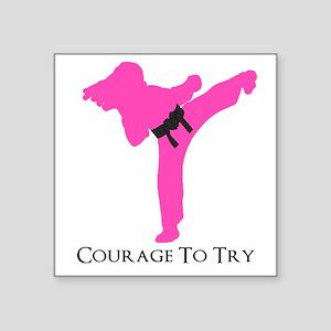 Martial Artist Sticker