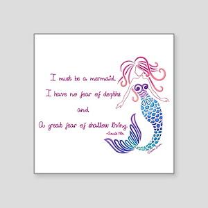 Tribal Mermaid Musings Sticker