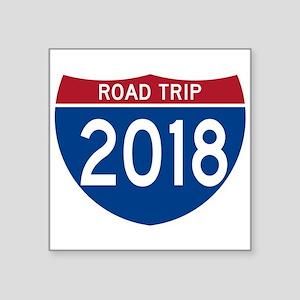 Road Trip 2018 Sticker