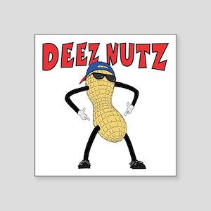 """DEEZ NUTZ Square Sticker 3"""" x 3"""""""