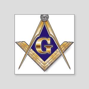 Masonic Square Sticker