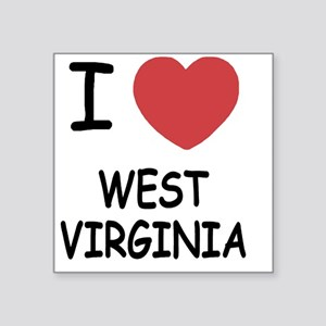 "WEST_VIRGINIA Square Sticker 3"" x 3"""