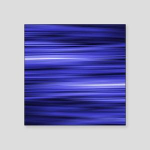 "abstract blue lights fashio Square Sticker 3"" x 3"""