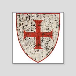 Templar Cross, Shield Sticker