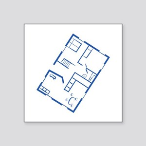 Floor Plan Sticker