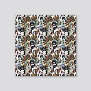 """puppies and kittens Square Sticker 3"""" x 3"""""""