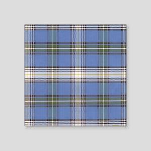 """MacDowell Tartan Plaid Square Sticker 3"""" x 3"""""""