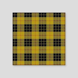 """McCleod Tartan Plaid Square Sticker 3"""" x 3"""""""