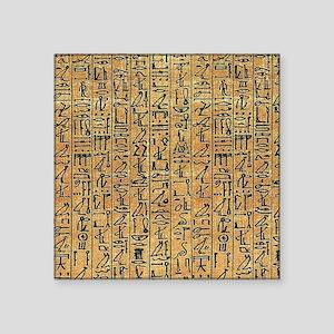 "walllclock_large Square Sticker 3"" x 3"""