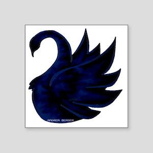"sek swan Square Sticker 3"" x 3"""