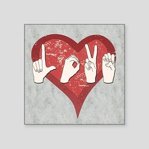 LoveASL2 Sticker