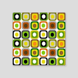 "MCM squares 222 Duvet Square Sticker 3"" x 3"""
