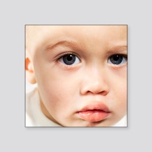 Baby's face - Square Sticker 3