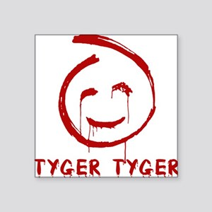 "the-mentalist-red-john-TYGE Square Sticker 3"" x 3"""