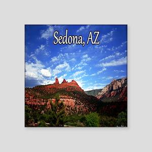 """Sedona, AZ Square Sticker 3"""" x 3"""""""