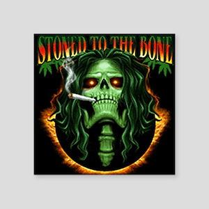 "StoneToTheBone Square Sticker 3"" x 3"""