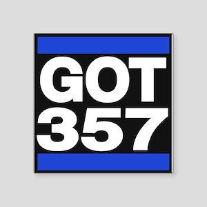 got 357 blue Sticker