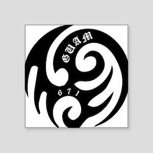 "tribal Square Sticker 3"" x 3"""