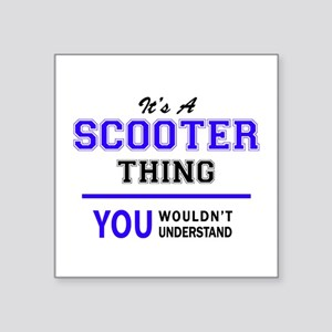 SCOOTER thing, you wouldn't understand! Sticker