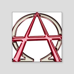 Alpha & Omega Anarchy Symbol Sticker