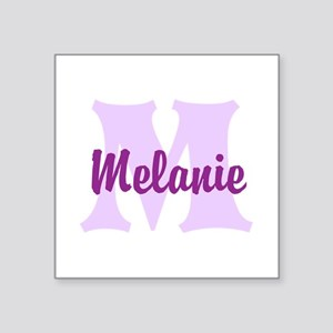 CUSTOM Lilac Purple Monogram Sticker