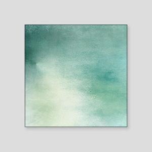 """Colors of Turquiose Square Sticker 3"""" x 3"""""""