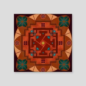 "50011S-Taos Square Sticker 3"" x 3"""