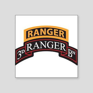 3D Ranger BN Scroll with Rang Rectangle Sticker