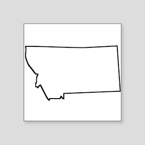 Montana Outline Sticker