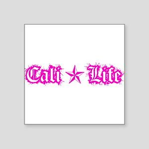 cali life 1a pink Sticker