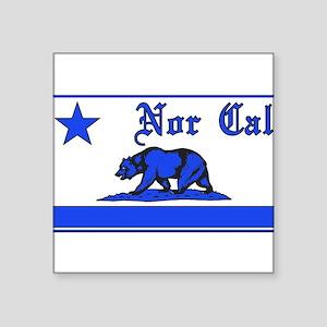 nor cal bear blue Sticker