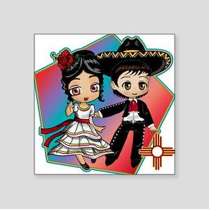 FIESTA DANCERS Sticker