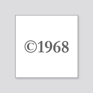 Copyright 1968-Gar gray Sticker