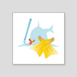 Dive Shark Sticker