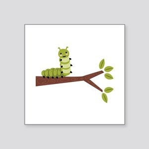 Caterpillar on Twig Sticker