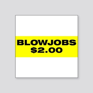 blowjobs Sticker