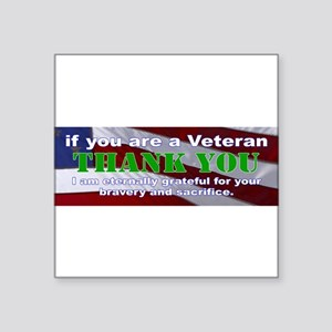 if you are a Veteran Sticker