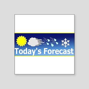 """Forecast1 Square Sticker 3"""" x 3"""""""