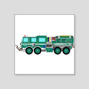 Fire Truck - Concept wild land green fire Sticker