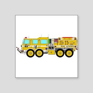 Fire Truck - Concept wild land yellow fire Sticker