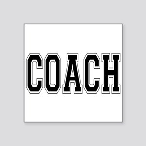 "Coach Square Sticker 3"" x 3"""