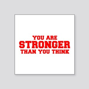 you-are-stronger-fresh-red Sticker