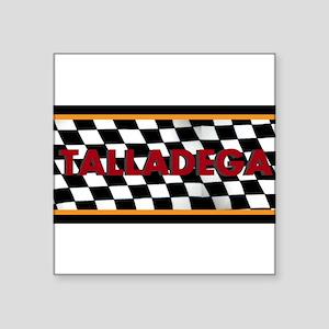 Talladega Alabama License Plate Sticker