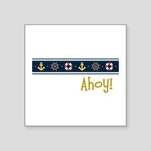 Ahoy Sticker