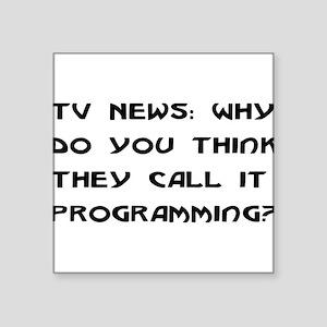 "programming01 Square Sticker 3"" x 3"""